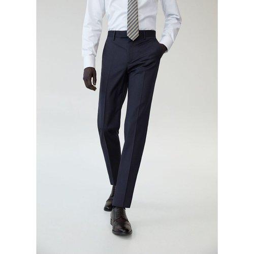 Pantalon costume slim fit laine vierge - mango man - Modalova