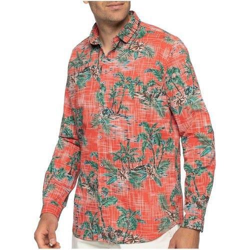 Chemise manches longues à fleurs - SHILTON - Modalova