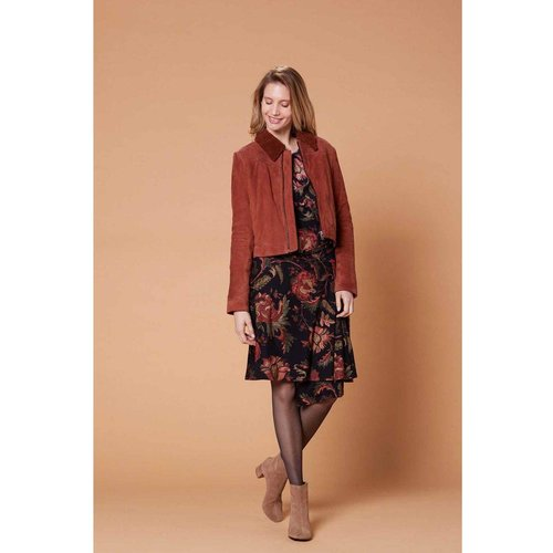 Robe imprimée en jersey - Modèle Banquise - DERHY - Modalova