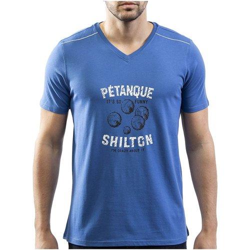 T-shirt pétanque manches courtes - SHILTON - Modalova