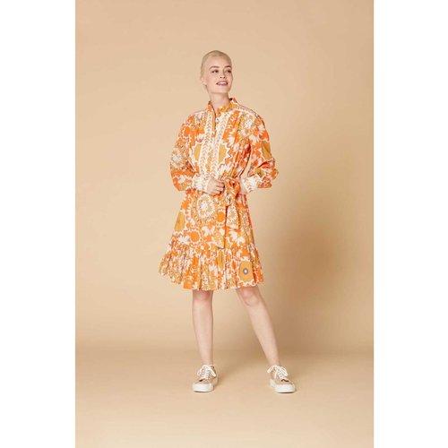 Robe courte imprimée - Modèle Cacophonie - DERHY - Modalova