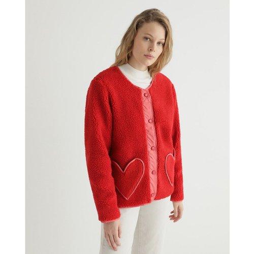 Veste moutonnée avec boutons - AGATHA RUIZ DE LA PRADA - Modalova
