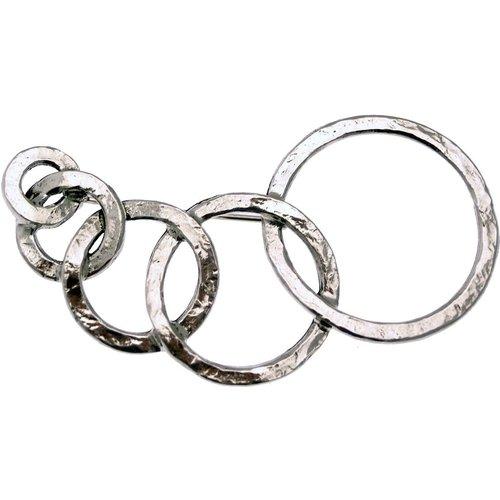 Broche CIRCLES Made in France - LILI LA PIE - Modalova