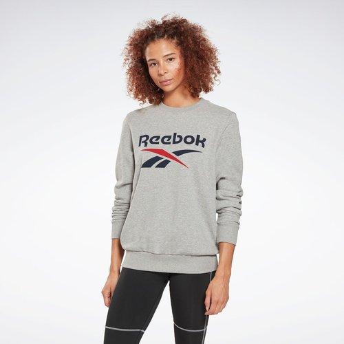 Sweat à col rond Reebok Identity Logo French Terry - REEBOK SPORT - Modalova