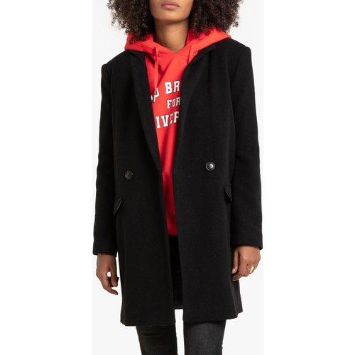 Manteau mi-long, en drap de laine - LA REDOUTE COLLECTIONS - Modalova