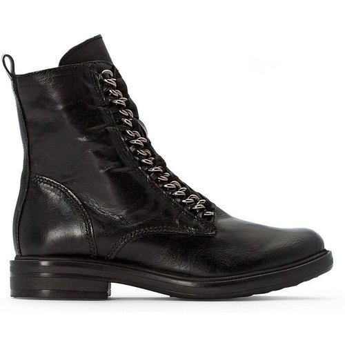 Bottines cuir Cafe - MJUS - Modalova