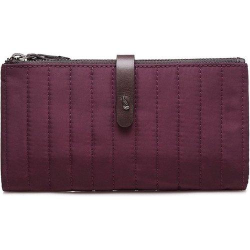 Grand portefeuille bimatière avec patte - ABBACINO - Modalova