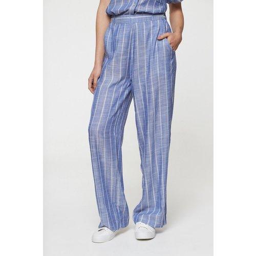 Pantalon large rayé - BEST MOUNTAIN - Modalova
