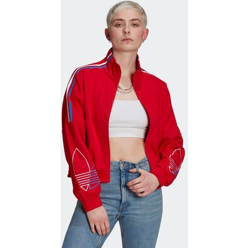 Veste de survêtement Adicolor Tricolor Trefoil Primeblue - adidas Originals - Modalova