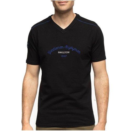 T-shirt gentleman rugby col v - SHILTON - Modalova