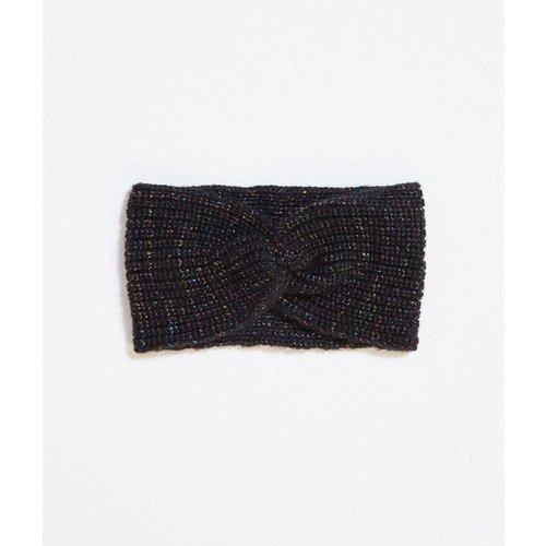 Headband en maille fil métallisé Fil textile - ETAM - Modalova