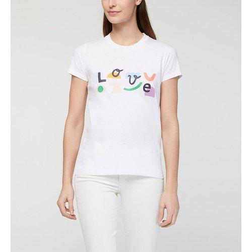 T-shirt Klin D'oeil X Tlove Droit Coton - GALERIES LAFAYETTE - Modalova