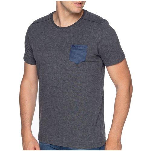 T-shirt basic pocket - SHILTON - Modalova