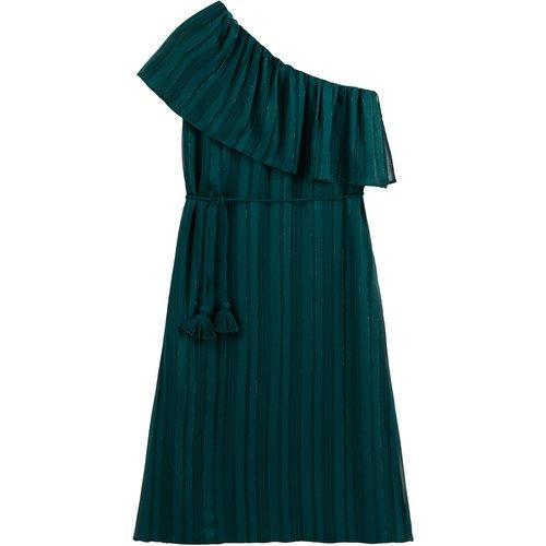 Robe asymétrique avec volant - VANESSA SEWARD X LA REDOUTE COLLECTIONS - Modalova