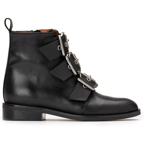 Boots cuir à boucles Dirce - JONAK - Modalova