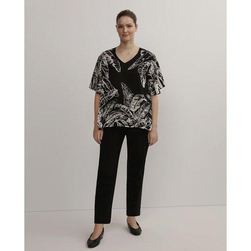 Pantalon droit à zips - COUCHEL - Modalova