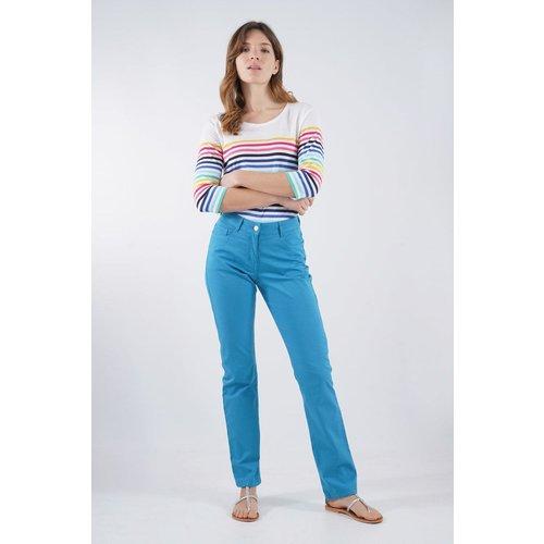 Pantalon coupe droite en coton - ARMOR-LUX - Modalova