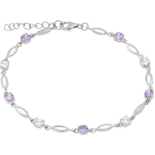 Bracelet en Argent 925/1000 et Oxyde - CLEOR - Modalova