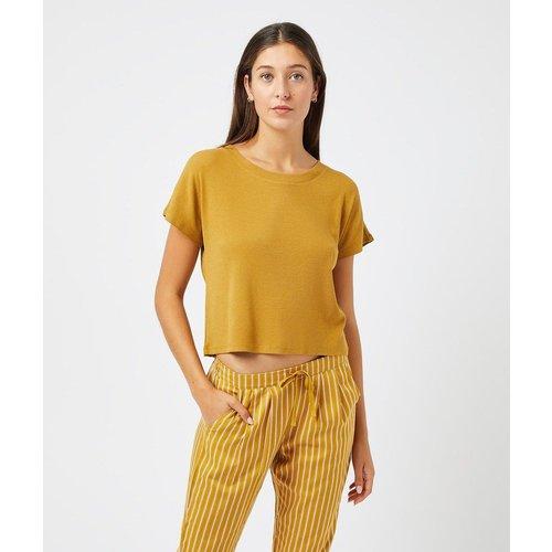 T-shirt côtelé NASH - ETAM - Modalova