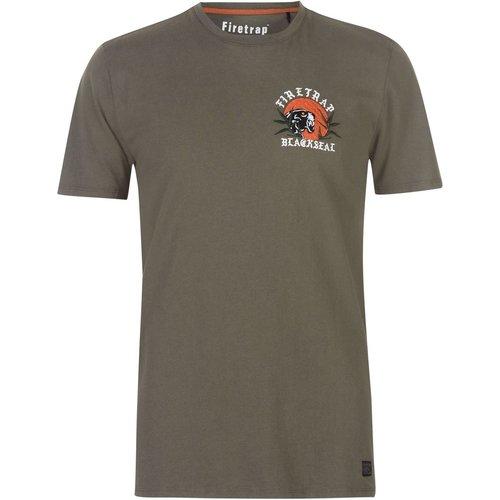 T-shirt col rond - Firetrap - Modalova