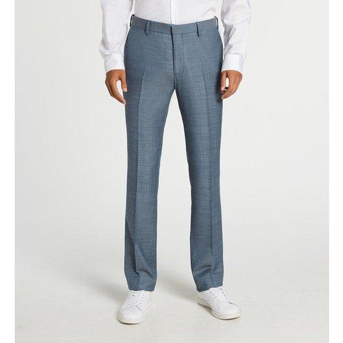 Pantalon De Costume Serem Slim Effet Tissé - COMPTOIR GL - Modalova
