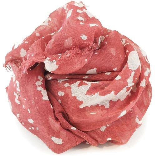 Foulard fin en soie et coton imprimé Japon - C-OUI - Modalova