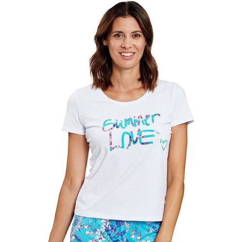 T-Shirt de Pyjama BE HAPPY - ROSCH - Modalova