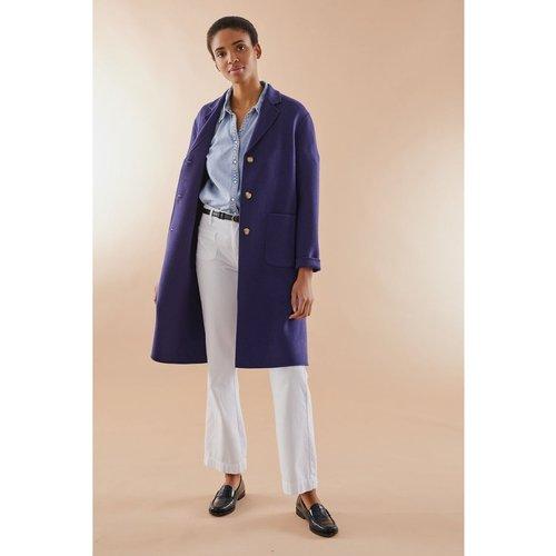 Manteau droit en laine double face MILO - PABLO - Modalova