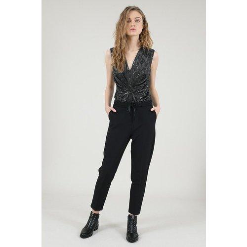 Pantalon ceinture de dentelle - MOLLY BRACKEN PREMIUM - Modalova