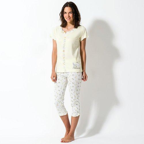 Pyjama corsaire, manches courtes - MELISSA BROWN - Modalova