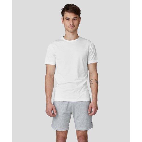 T-shirt uni avec oeillets - RON DORFF - Modalova