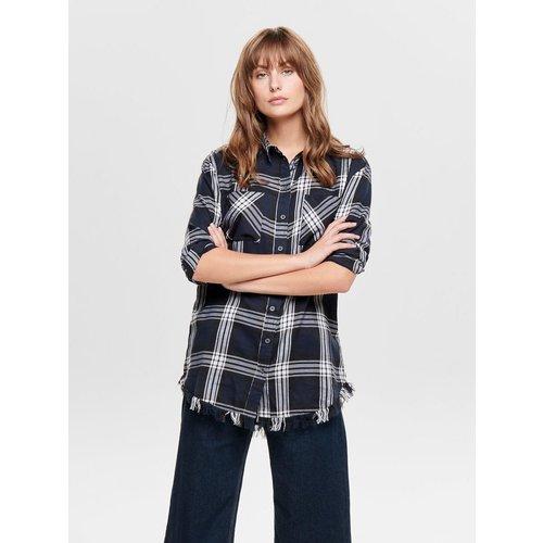 Chemise à manches longues Carreaux - Only - Modalova