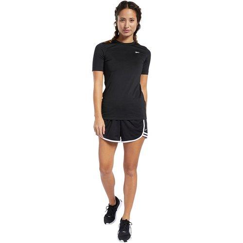 T-shirt manches courtes col rond logo devant - REEBOK SPORT - Modalova