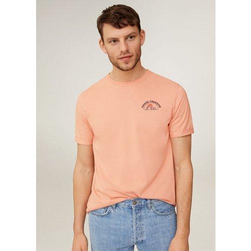 T-shirt en coton à dessin - mango man - Modalova