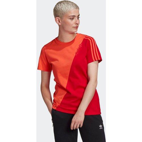 T-shirt Adicolor Sliced Trefoil Regular - adidas Originals - Modalova