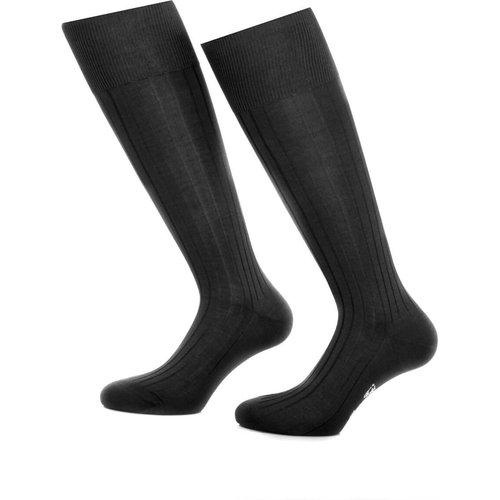 Chaussettes hautes en fil d'Ecosse - BRUCE FIELD - Modalova
