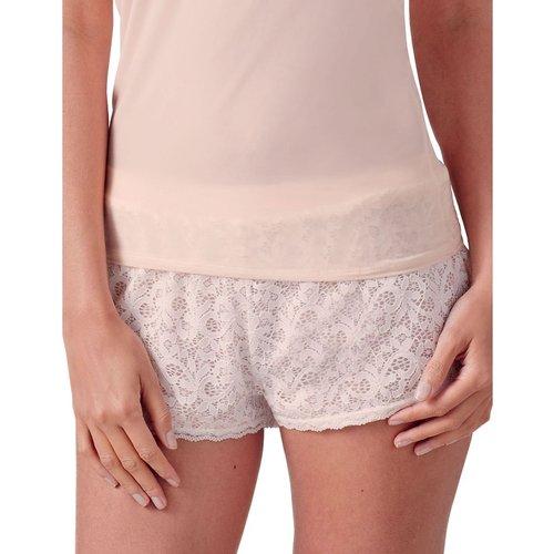 Short Pyjama en Dentelle - GUY DE FRANCE - Modalova