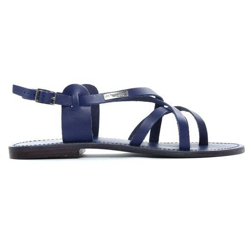 Sandales entre-doigts en cuir OLIVINE - LES TROPEZIENNES PAR M BELARBI - Modalova