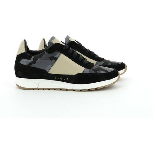 Sneakers basses Cuir Callao Camoufla - PIOLA - Modalova