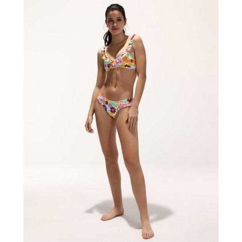 Haut de bikini Flower imprimé - GREEN COAST - Modalova