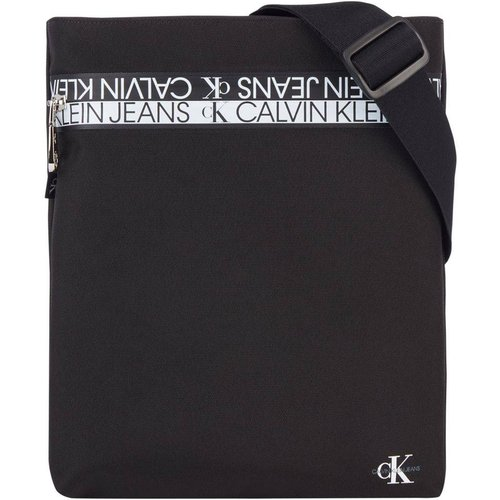 Sacoche plate à bandoulière Flatpack - Calvin Klein Jeans - Modalova