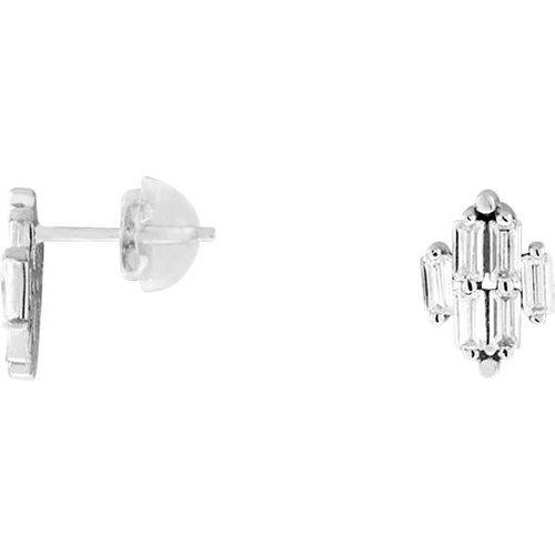 Boucles d'oreilles en Or 375/1000 et Oxyde - CLEOR - Modalova