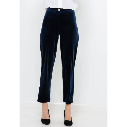 Pantalon droit velours - CAMAIEU - Modalova