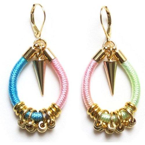 Boucles d'oreilles originales AURORA bijoux ethniques - CELINE H2O - Modalova