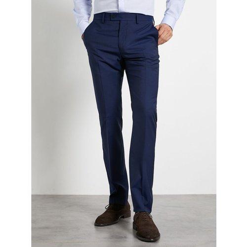 Pantalon ajusté New Slim laine Super 110's - CYRILLUS - Modalova