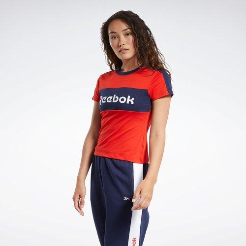 T-shirt avec logo linéaire Detail Training Essentials - REEBOK SPORT - Modalova