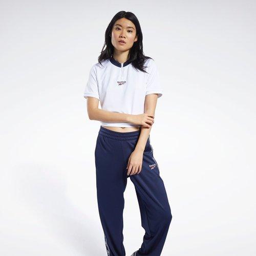 T-shirt crop à col V Classics - Reebok Classics - Modalova