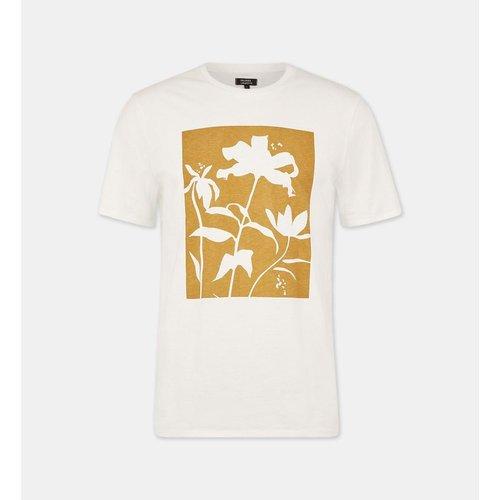 T-shirt Droit Sower Coton - GALERIES LAFAYETTE - Modalova