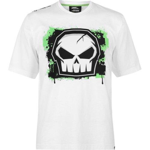 T-shirt col rond manche courte - No Fear - Modalova