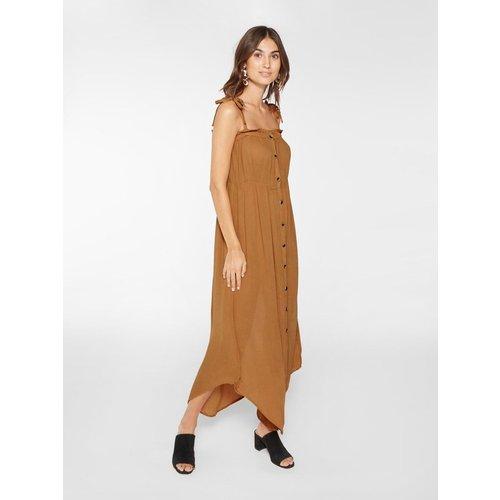Robe longue Maillot boutonné - YAS - Modalova